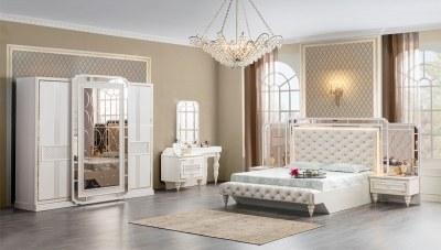 Alesta Bazalı Yatak Odası