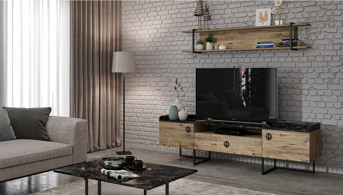 Asane Modern TV Ünitesi