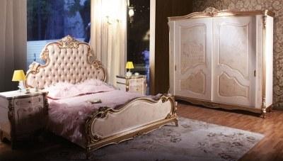 Atalanta Ceviz Yatak Odası