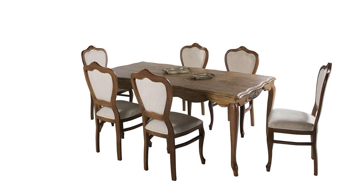 Barbosa Ahşap Yemek Odası