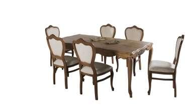 Barbosa Ahşap Yemek Odası - Thumbnail