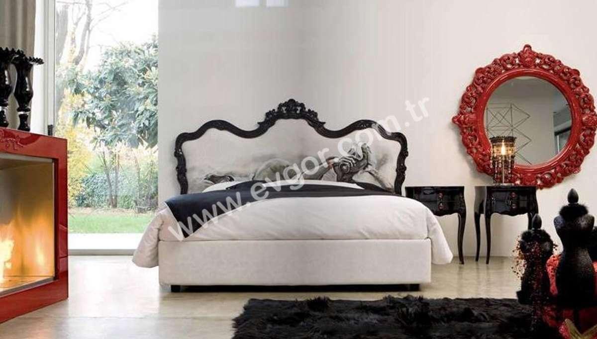 Beyaz Başlıklı Yatak Odası Takımı
