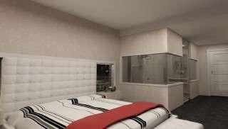Beyaz Kapitoneli Yatak Odaları - Thumbnail