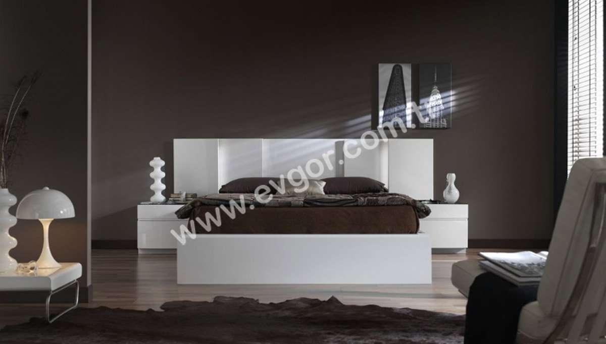Beyaz Modern Yatak Odası Takımı