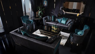 Black Gold Luxury Koltuk Takımı