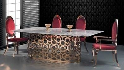 Bonera Metal Yemek Masası