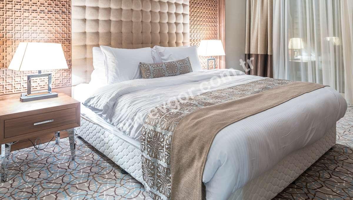 Borlero Otel Yatak Odası