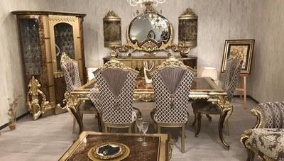 Bovmar Klasik Yemek Odası
