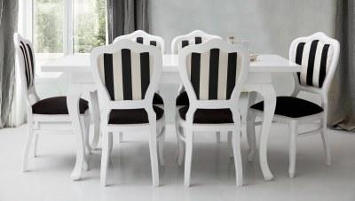 Buenar Beyaz Masa Takımı