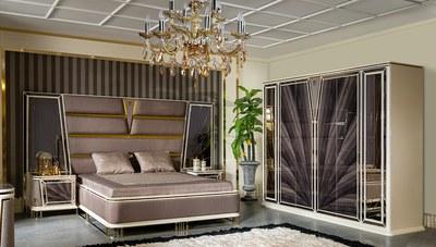 Bugatti Metal Yatak Odası