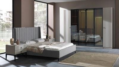 Çınar Bej Yatak Odası