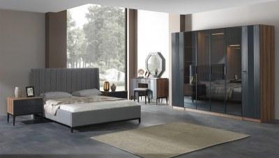 Çınar Ceviz Yatak Odası
