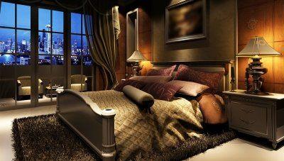 Comodo Otel Yatak Odası