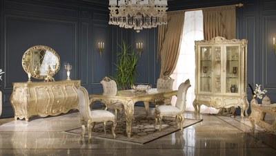 Dala Klasik Yemek Odası