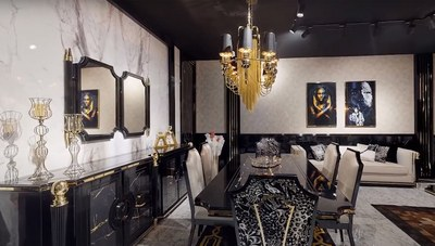 Dallas Luxury Yemek Odası - Thumbnail