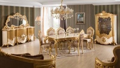Elenora Klasik Yemek Odası