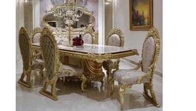 Fenoras Klasik Yemek Odası - Thumbnail