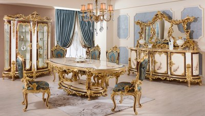 Gazel Klasik Yemek Odası