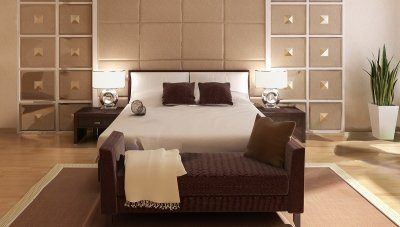 Habita Otel Yatak Odası