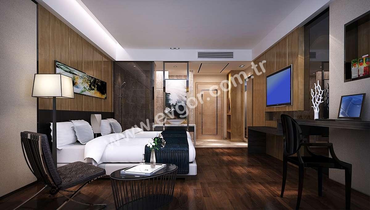 Hanedan Otel Yatak Odası