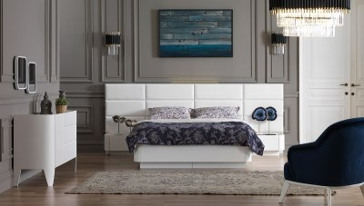 Hidiv Beyaz Yatak Odası