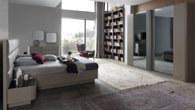 Hidiv Antrasit Yatak Odası
