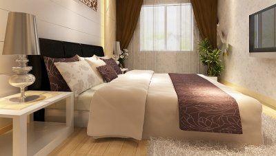 İnvera Otel Yatak Odası
