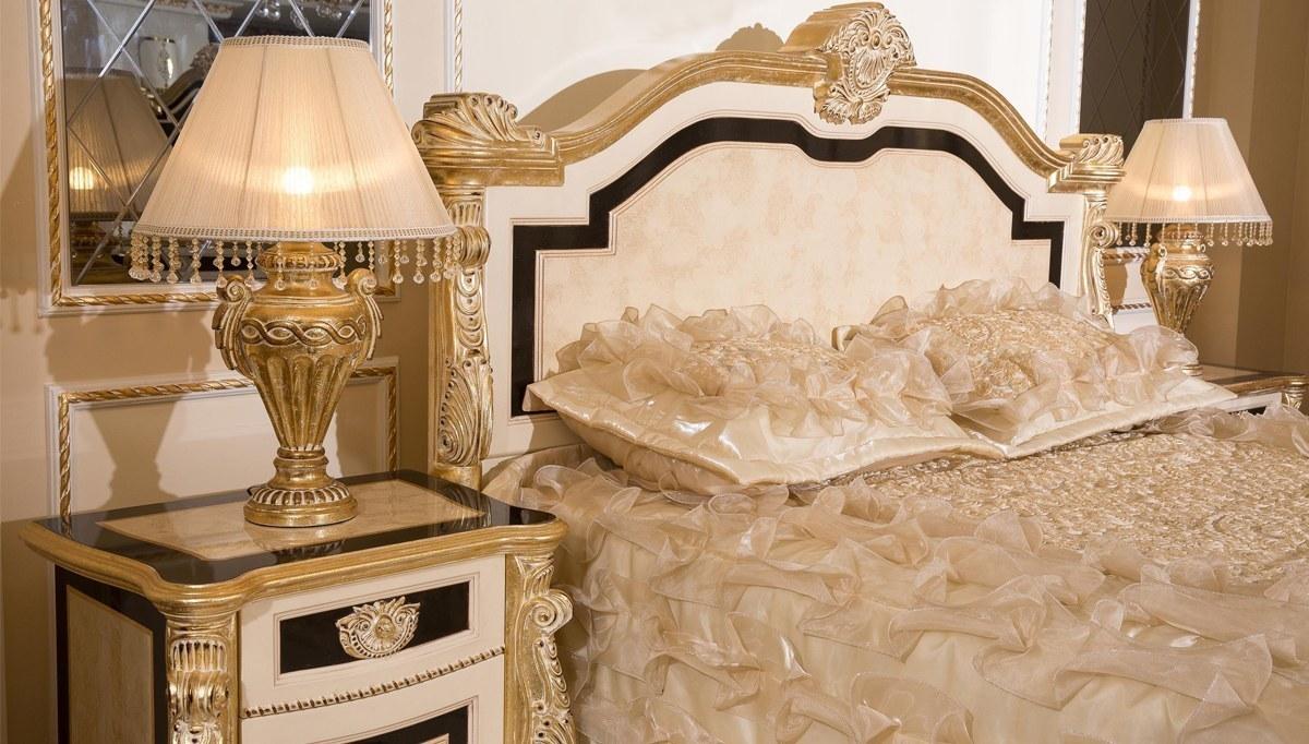 Kaldore Desenli Klasik Yatak Odası