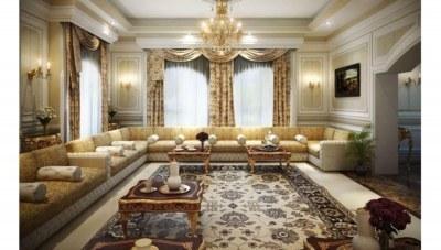 Kamufle Salon Dekorasyonu