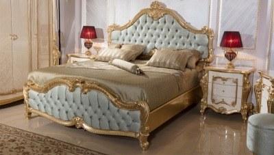 Kayıhan Desenli Klasik Yatak Odası - Thumbnail