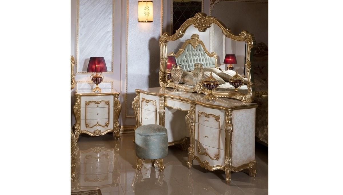 Kayıhan Desenli Klasik Yatak Odası