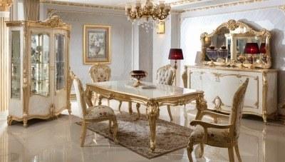 Kayıhan Desenli Klasik Yemek Odası