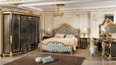 Kayıhan Siyah Klasik Yatak Odası