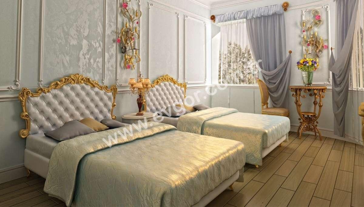Kraliçe Otel Yatak Odası