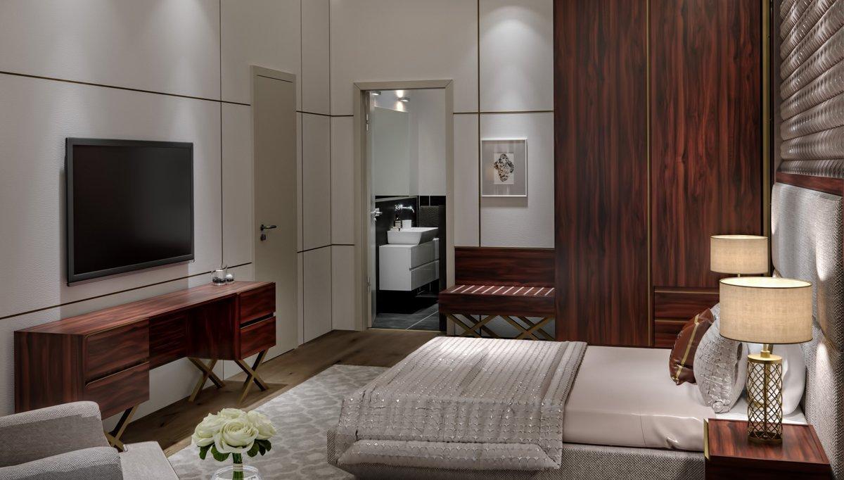 Lavin Otel Yatak Odası