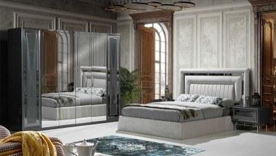Loreda Füme Yatak Odası