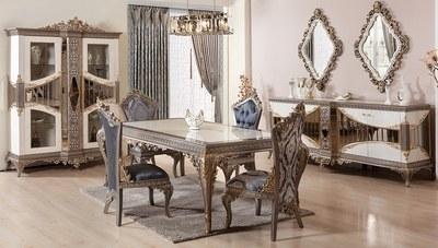 Lotusa Klasik Yemek Odası