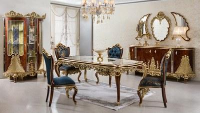 Lüks Agra Klasik Yemek Odası
