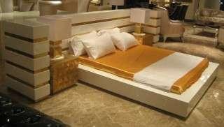 Lüks Beyaz Yatak Odası Takımı