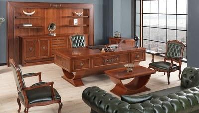 Lüks Şarika Üniteli Klasik Makam Odası