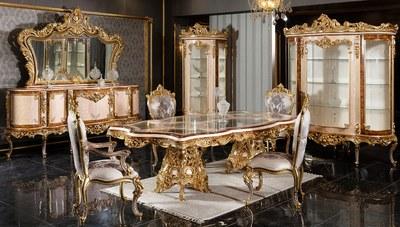 Lüks Veliaht Klasik Yemek Odası