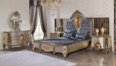 Lüks Zümra Klasik Yatak Odası