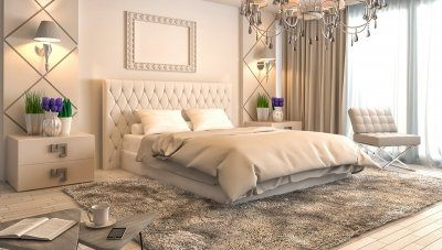 Mahoma Otel Yatak Odası