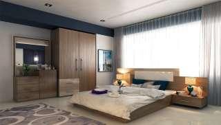 Modern Otel Yatak Odası