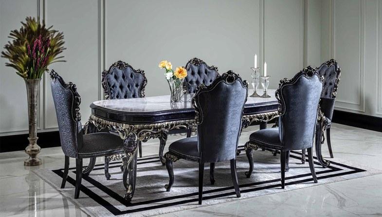 1078 - Neva Klasik Yemek Odası