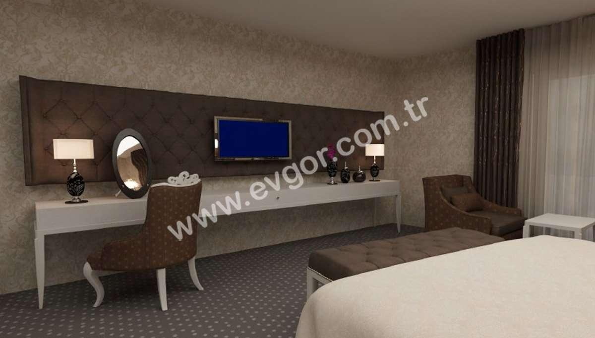 Otel Kapitoneli Yatak Odaları