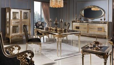 Paris Lüks Yemek Odası