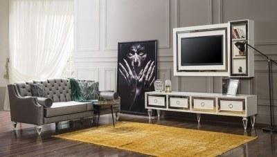 Pergamon Beyaz TV Ünitesi