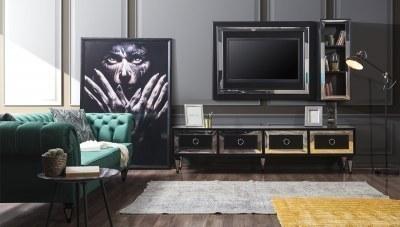 Pergamon Siyah TV Ünitesi