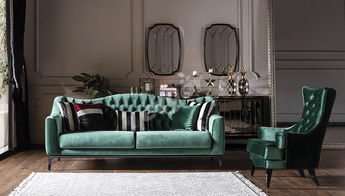 Pierce Art Deco Koltuk Takımı